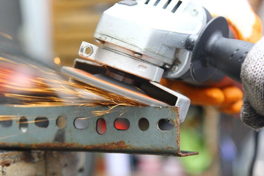 Using Angle Grinder