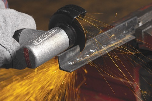 Using Angle Grinder For Cutting Metal