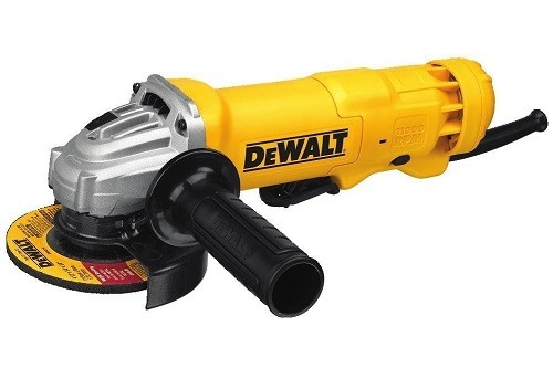 DEWALT Angle Grinder On White Background