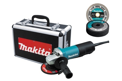 Makita Angle Grinder With Replacement Wheels