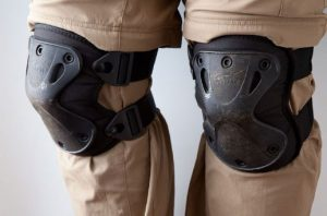get some knee pads for grinding concrete